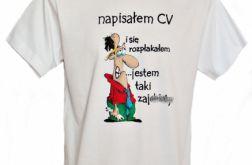 Unikatowa koszulka Malowana ręcznie rozm. M