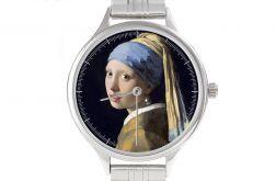 """Zegarek Art """"Dziewczyna z perłą"""" bransoleta"""