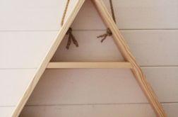 Drewniana półka 60x60