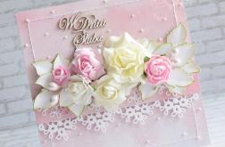 Romantyczny bukiet kwiatów