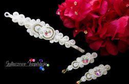 Biżuteria ślubna SWAROVSKI, komplet ślubny sutasz