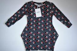 Sukienka z długim rękawem rozm.92 (6201704)