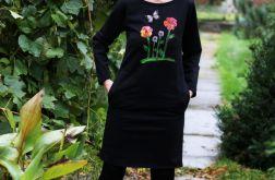 Sukienka Tunika Ogród w Nocy