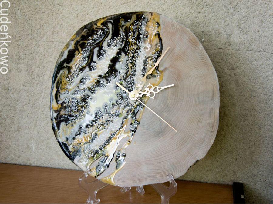 Zatopek Zegar złoto-czarny