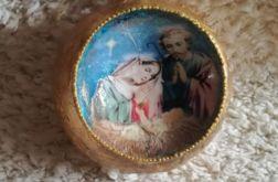 Złocona bombka ,,Boże Narodzenie''