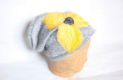 czesanką filcowane czapki wełniane e1