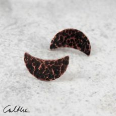 Księżyce - kolczyki sztyfty 201204-11