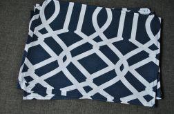 4 podkładki pod talerze Granat. arabeski II