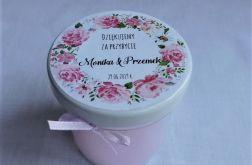Mini świeczka, prezent dla gości na wesele