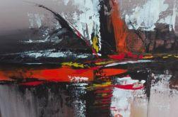 Obraz abstrakcja 40x40cm