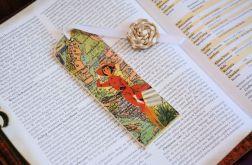 Zakładka do książki - Dziewczyna podróżniczka