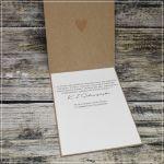 Zakochane ptaszki - kartka ślubna z życzeniami