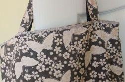 Torba w motyle - typu shopper bag