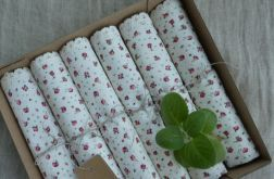 Zestaw serwet romantyczne różyczki