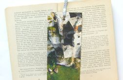 Vintage zakładka do książki - zamek 4