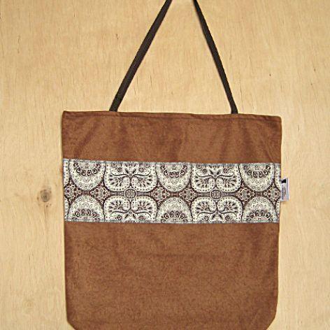 Brown bandana - torba na zakupy