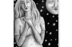 Księżyc - plakat A3