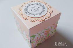 Pudełko urodziny exploding box lilie