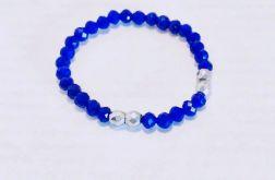 Pierścionek elastyczny Kwarc niebieski-mod 4