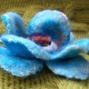 Turkusowy kwiat