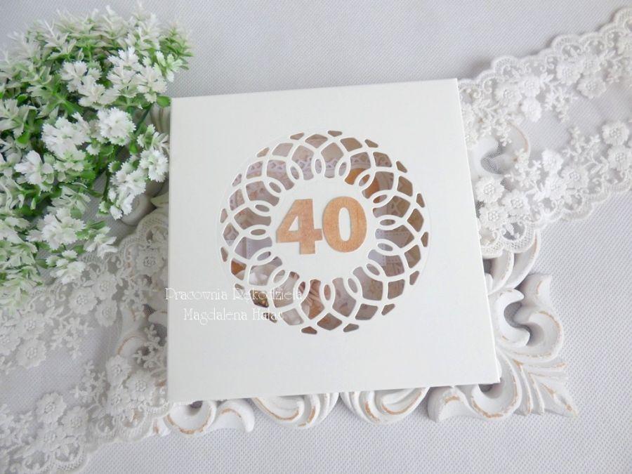 Kartka urodzinowa w pudełku 86 -