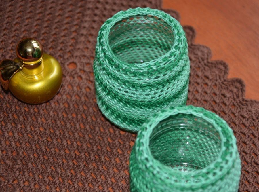 Zielone słoiczki -
