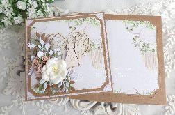 Kartka ślubna w pudełku 377