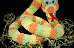 Pluszowy wąż