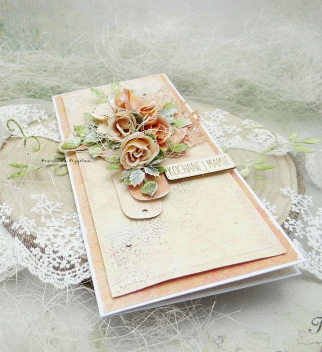 Kochanej Mamie- kartka w pudełku 6 - kartka na Dzień Matki