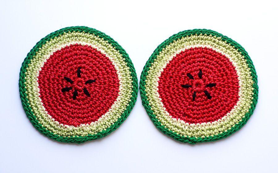 Podkładki  arbuzy