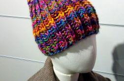 ciepła czapka beanie kolorowa