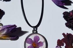 Naszyjnik wisiorek z kwiatem