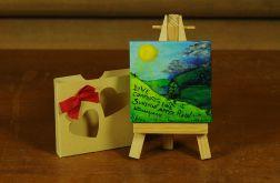 Walentynkowa kartka-magnes 10