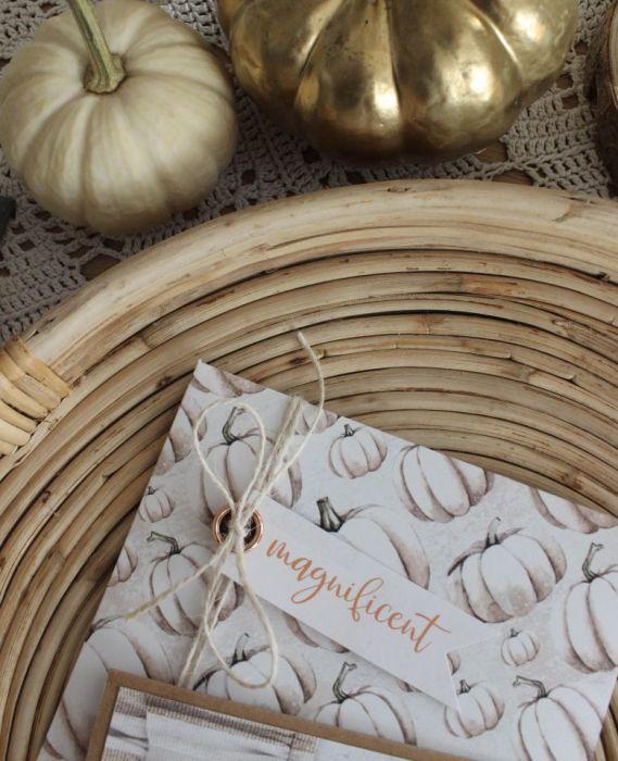 Kartka White Pumpkin - koperta