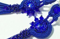 Swarovski-Cobalt kolczyki
