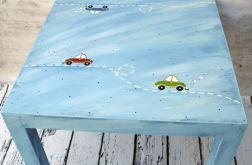 stolik dla malucha autka