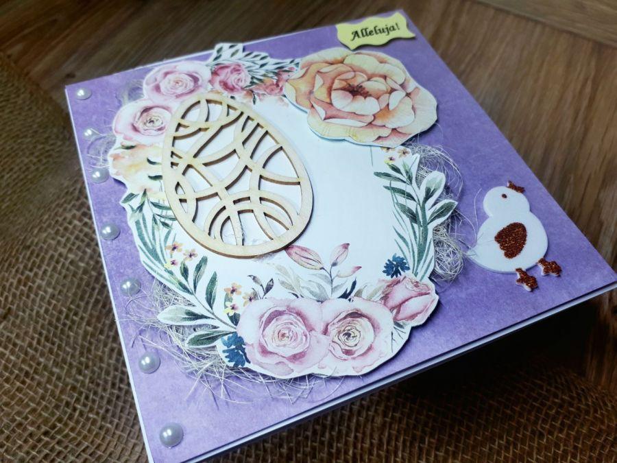 Elegancka kartka Wielkanocna #3 -