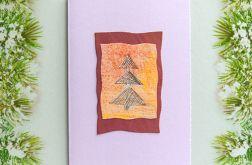 Kartka  świąteczna minimalizm 10
