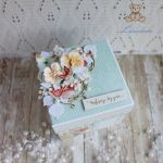 Exploding box urodzinowy z rowerem GOTOWY -