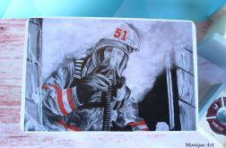 Kufer na drobiazgi, zdjęcia dla strażaka