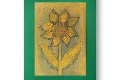 Kwiat rysunek dekoracyjny szkic n17
