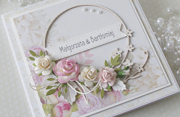 Kartka ślubna w pudełku v.18