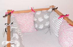 Modułowy ochraniacz do łóżeczka 6 szt N37