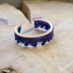 Zatopek bransoletka fiolet żywica - 3