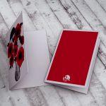 Ślubna Karteczka z makami... -