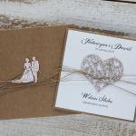Oryginalna kartka ślubna i pudełko 2 - oryginalna kartka na ślub