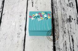 pudełko mini turkus