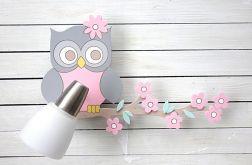 Kinkiet, lampka dla dziecka z sową