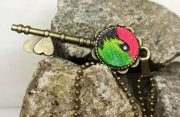 Kolorowy klucz wisiorek