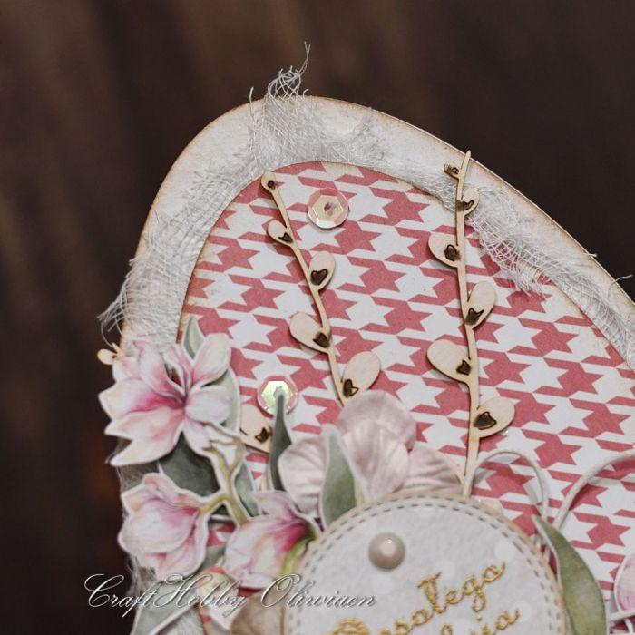 Wielkanocna pisanka z baziami I - Pisanka - detal I